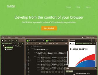 Thumbshot of Shiftedit.net