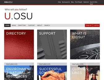 u.osu.edu screenshot