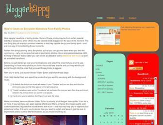 Thumbshot of Bloggerhappy.com