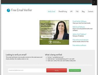 Thumbshot of Verify-email.org