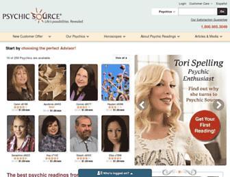 Thumbshot of Psychicsource.com