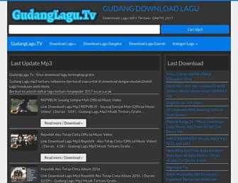 gudanglagu.tv screenshot