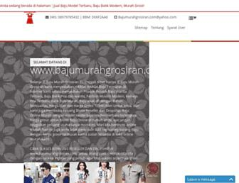 bajumurahgrosiran.com screenshot