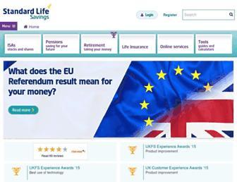 Thumbshot of Standardlife.co.uk