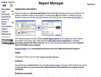 reportman.sourceforge.net screenshot