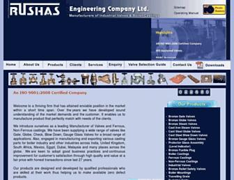 rushasvalves.com screenshot