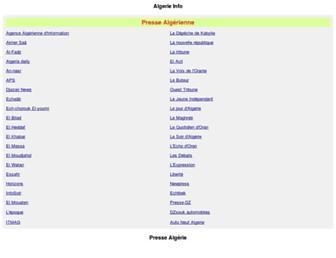 Thumbshot of Algerieinfos.net