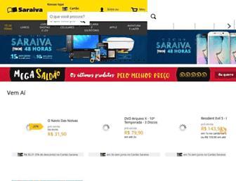 saraiva.com.br screenshot
