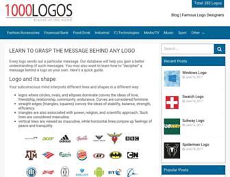 1000logos.net screenshot