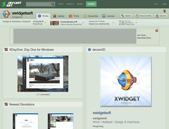 xwidgetsoft.deviantart.com screenshot