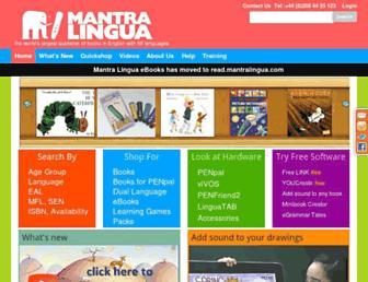 uk.mantralingua.com screenshot
