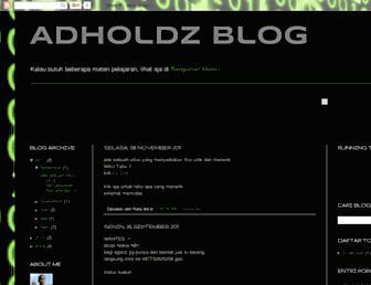 adholdz.blogspot.com screenshot