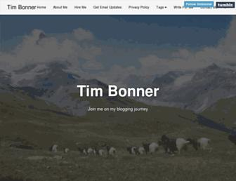 Thumbshot of Tim-bonner.com