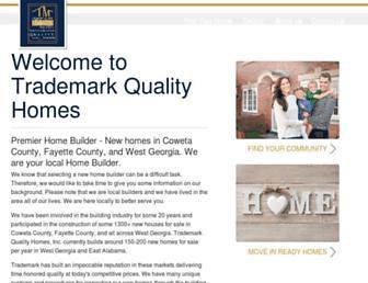 trademarkqualityhomes.com screenshot