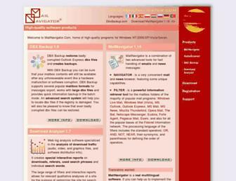 mailnavigator.net screenshot
