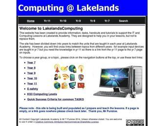 lakelandscomputing.com screenshot