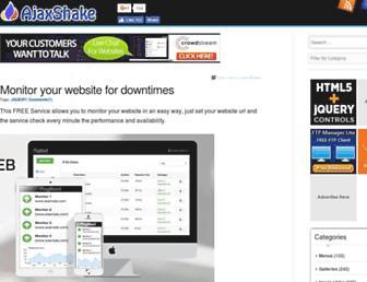 Thumbshot of Ajaxshake.com