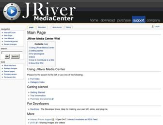 wiki.jriver.com screenshot