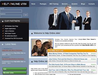 helponlinejobs.com screenshot