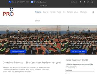 container-projects.com screenshot