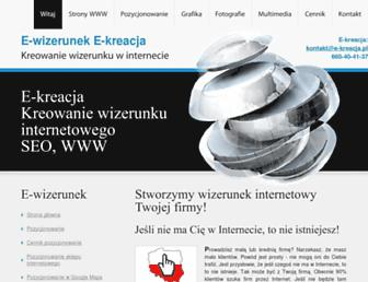 Thumbshot of E-kreacja.pl