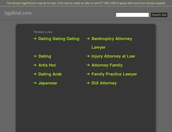 3gpfind.com screenshot