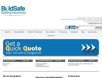buildsafe.com.au screenshot