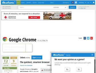 chrome.en.softonic.com screenshot