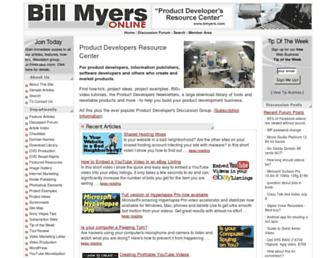 bmyers.com screenshot