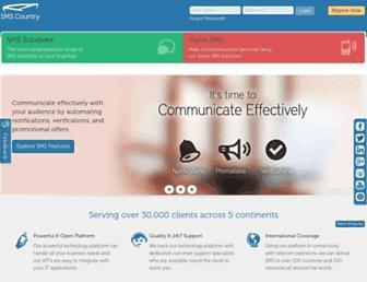 smscountry.com screenshot