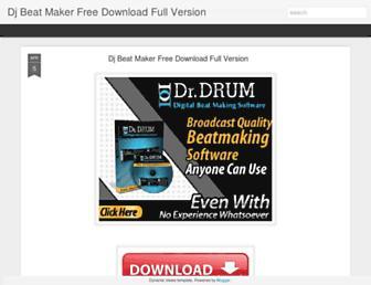 djbeatmakerfreedownloadfullversion.blogspot.com screenshot