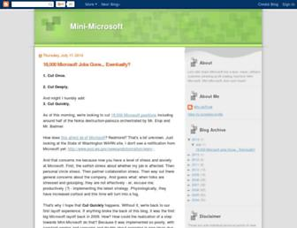 minimsft.blogspot.com screenshot