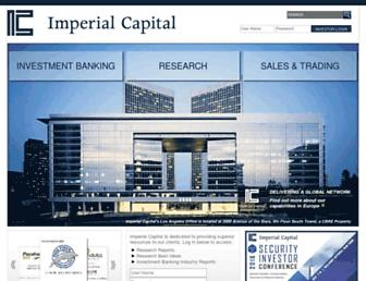 imperialcapital.com screenshot