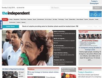 Thumbshot of Theindependentbd.com
