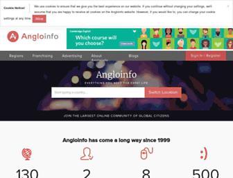 angloinfo.com screenshot