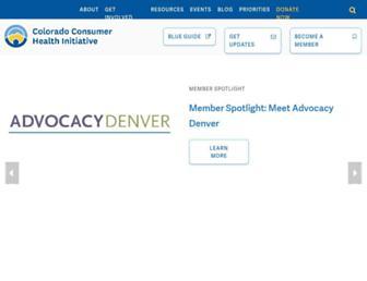 cohealthinitiative.org screenshot