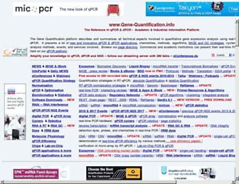 gene-quantification.de screenshot