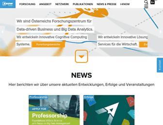 Main page screenshot of pwm.at