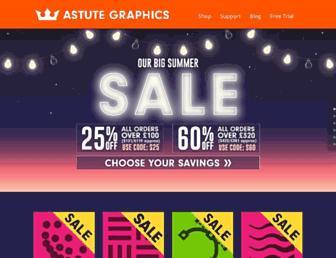 Thumbshot of Astutegraphics.co.uk