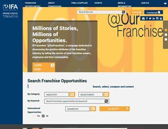 Thumbshot of Franchise.org