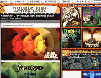 Thumbshot of Doublefine.com