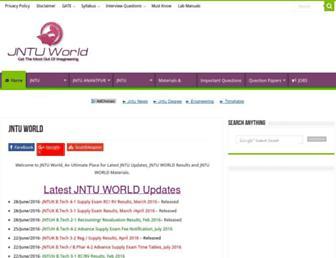 alljntuworld.in screenshot
