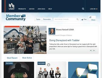 communities.usaa.com screenshot