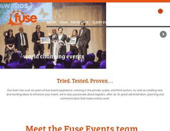 fuseevents.org screenshot