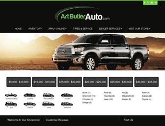 artbutlerauto.com screenshot