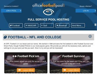 Thumbshot of Officefootballpool.com