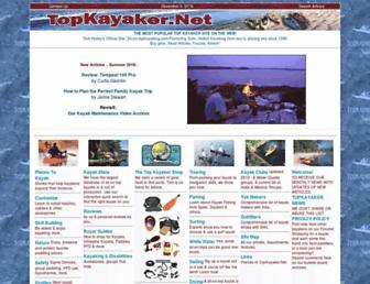 sit-on-topkayaking.com screenshot