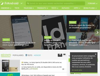 Thumbshot of Frandroid.com