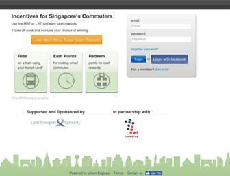 Thumbshot of Travelsmartrewards.sg