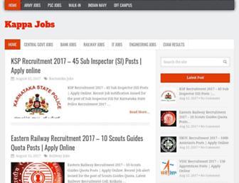kappajobs.com screenshot